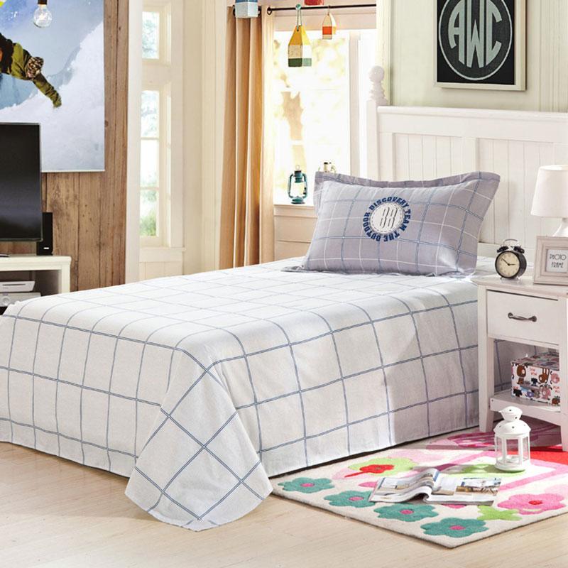 awesome light grey and white cotton bedding set ebeddingsets. Black Bedroom Furniture Sets. Home Design Ideas