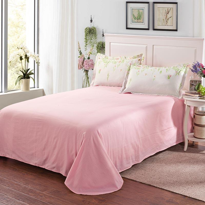 Beautiful White Floral Cotton Bedding Set