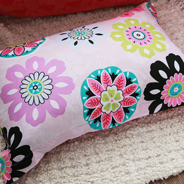 Charming Colorful Floral themed Cotton  Bedding Set
