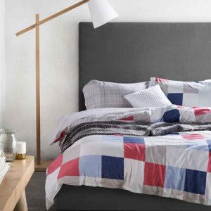 Charming Grey and White Cotton Bedding Set 1 300x300 - Charming Grey and White  Cotton  Bedding Set