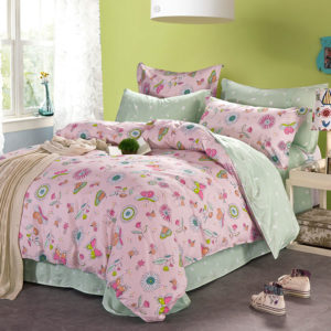 Charming Light Pink Cotton Bedding Set 1 300x300 - Charming Light Pink Cotton Bedding Set