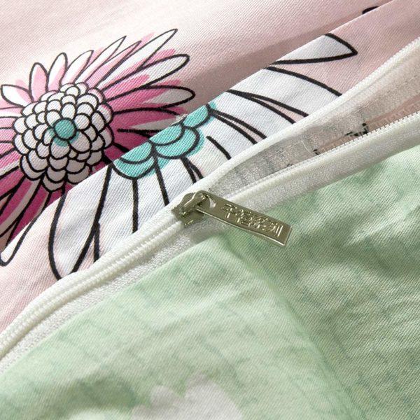 Charming Light Pink Cotton Bedding Set 2