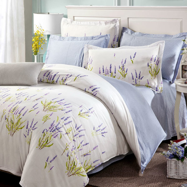 Chic Floral Cotton Bedding Set 1