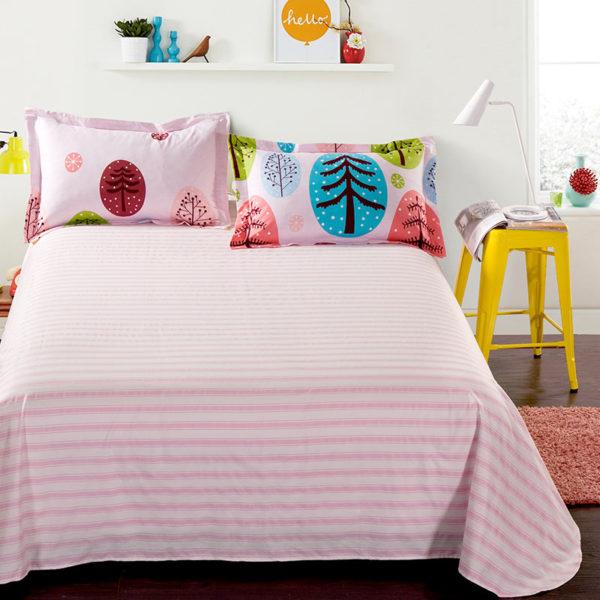 Christmas Themed Cotton Bedding Set 3 600x600 - Christmas Themed Cotton Bedding Set