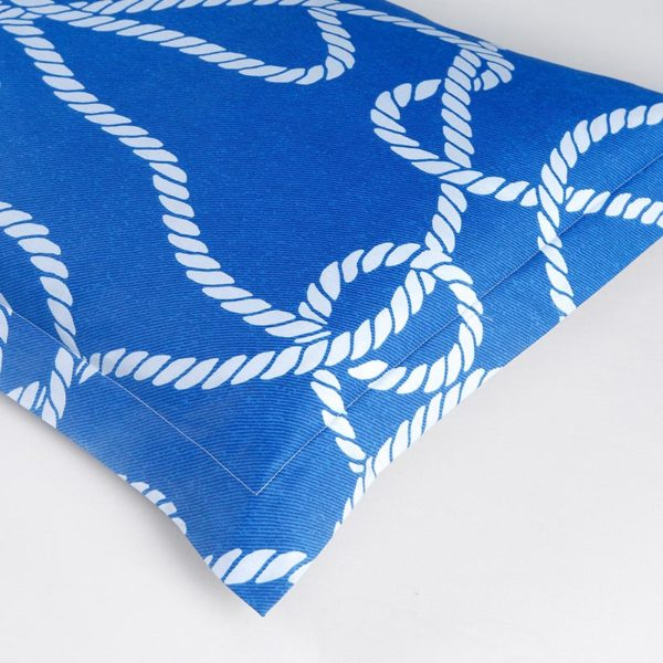 Classic Blue and White Cotton Bedding Set 2 600x600 - Classic Blue and White Cotton Bedding Set