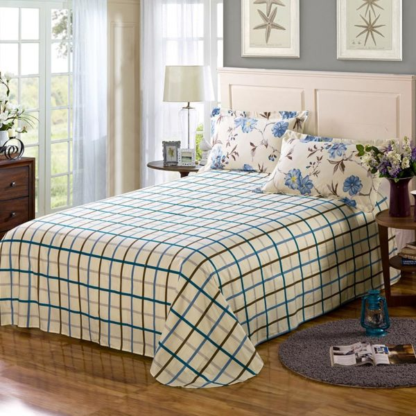 Classy Floral Cotton Bedding Set 3 600x600 - Classy Floral Cotton Bedding Set