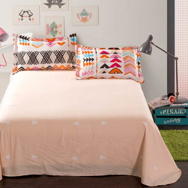 Colorful Aztec Cotton Bedding Set 3 600x600 - Colorful Aztec Cotton  Bedding Set