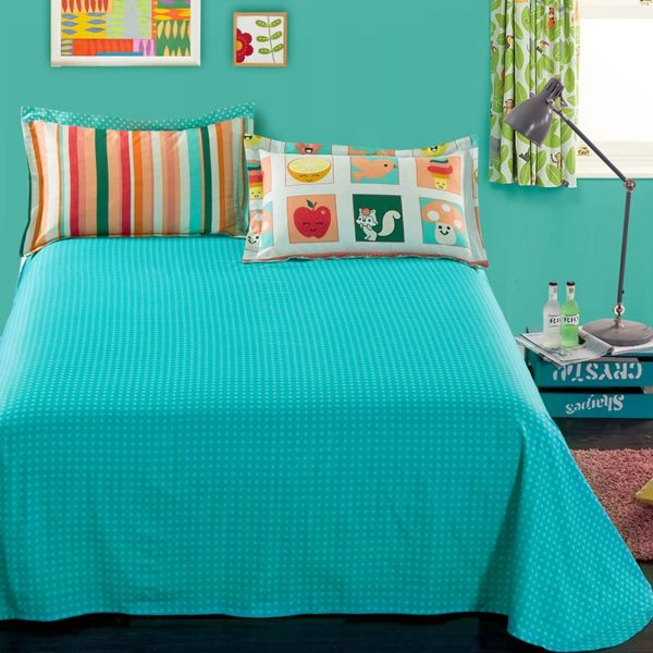 Colorful Cotton Bedding Set 4 1 600x600 - Colorful Cotton Bedding Set