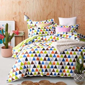 Colorful and Classic Cotton  Bedding Set