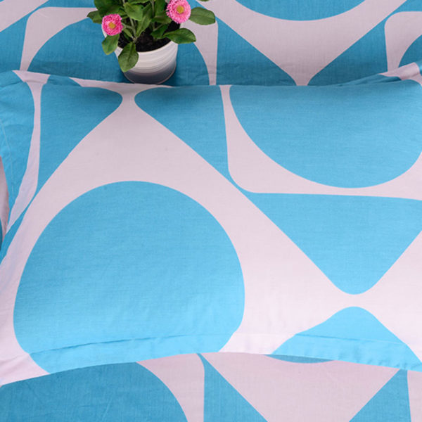 Colourful Geometric Cotton Bedding Set