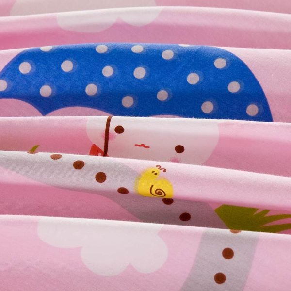 Cute Bunny Themed Cotton Bedding Set 3 1