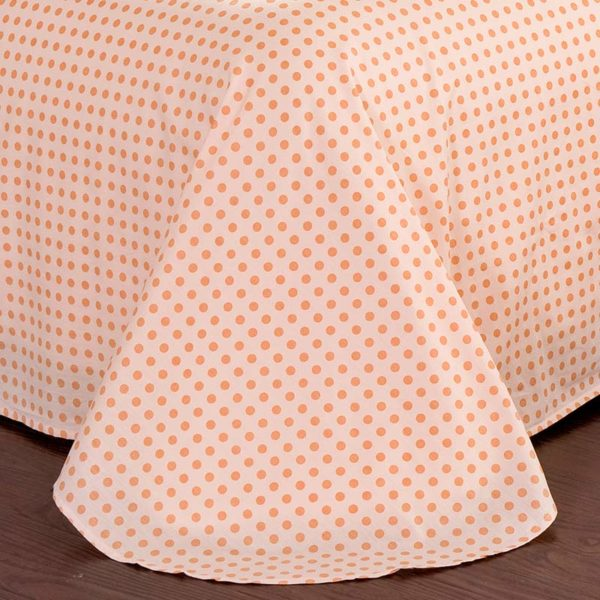 Cute Floral Cotton Bedding Set In White And Pink 3 600x600 - Cute Floral Cotton Bedding Set  In White And Pink