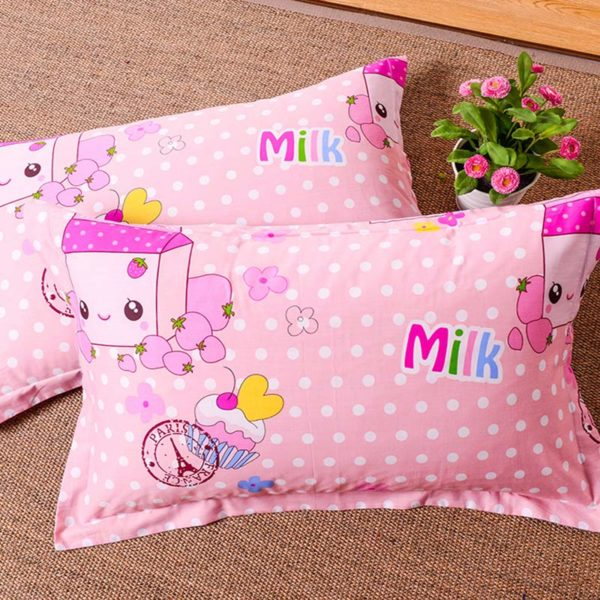 Cute Milk and Muffins Cotton Bedding Set 2 600x600 - Cute Milk and Muffins Cotton  Bedding Set