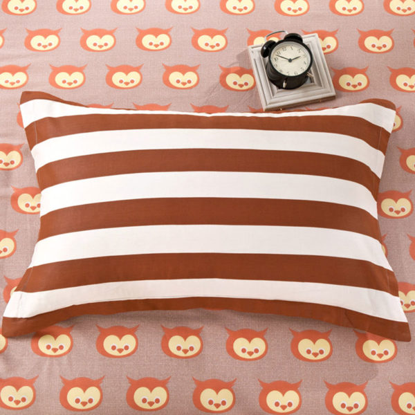 Cute and Enticing Owl Themed Cotton Bedding Set 4 600x600 - Cute and Enticing Owl Themed Cotton Bedding Set