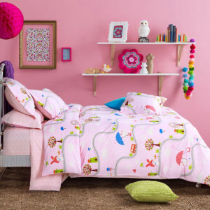 Delicate Pink Cotton Bedding Set 1 300x300 - Delicate Pink Cotton Bedding Set