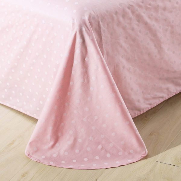 Delicate Pink Cotton Bedding Set 5 600x600 - Delicate Pink Cotton Bedding Set