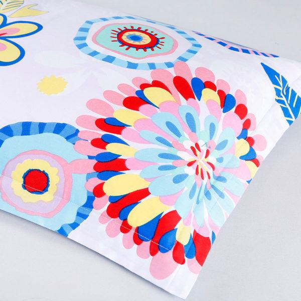 Delightful Floral Cotton Bedding Set 2 600x600 - Delightful Floral Cotton Bedding Set