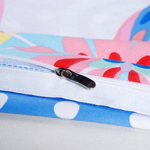 Delightful Floral Cotton Bedding Set 3 600x600 - Delightful Floral Cotton Bedding Set