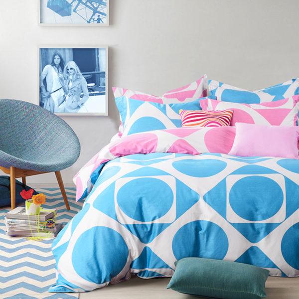 Elegant Geometrical Cotton Bedding Set