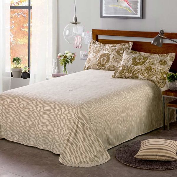 Elegant White And Beige Cotton Bedding Set 5 600x600 - Elegant White And Beige Cotton Bedding Set