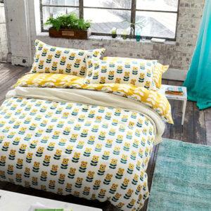 Elegant White and Dark Gold Cotton Bedding Set 1 300x300 - Elegant White and Dark Gold Cotton Bedding Set