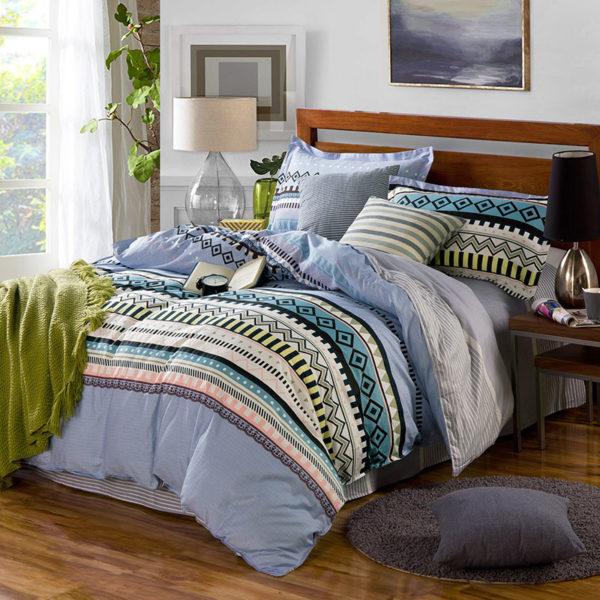 Enchanting Aztec Cotton Bedding Set 2 600x600 - Enchanting Aztec Cotton  Bedding Set