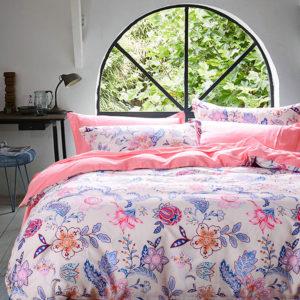 Exquisite Floral Cotton  Bedding Set