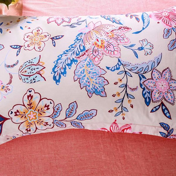 Exquisite Floral Cotton Bedding Set 3 600x600 - Exquisite Floral Cotton  Bedding Set