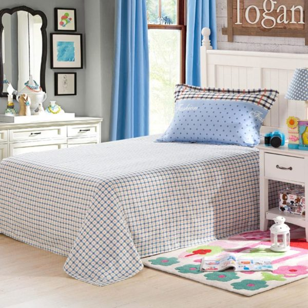 Exquisite Light Blue and white Cotton Bedding Set 3 600x600 - Exquisite Light Blue and white Cotton  Bedding Set