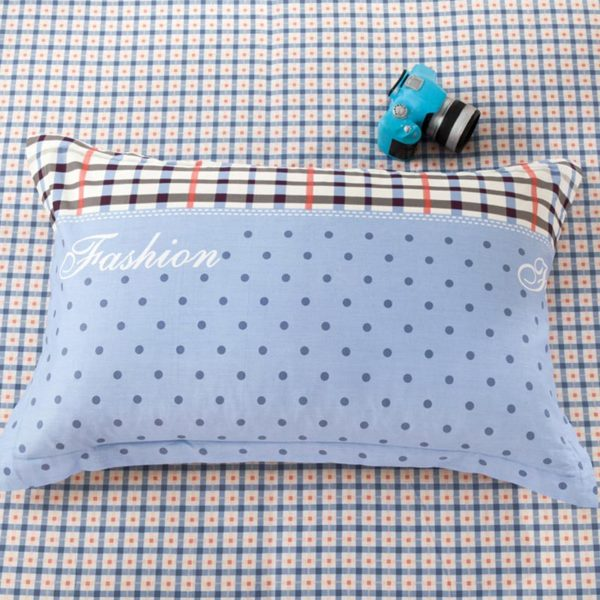 Exquisite Light Blue and white Cotton Bedding Set 4 600x600 - Exquisite Light Blue and white Cotton  Bedding Set