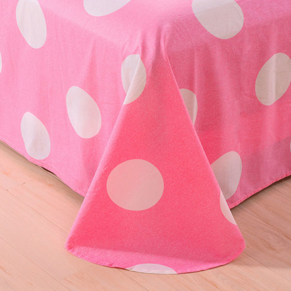 ExquisiteYellow and Pink Cotton Bedding Set 1