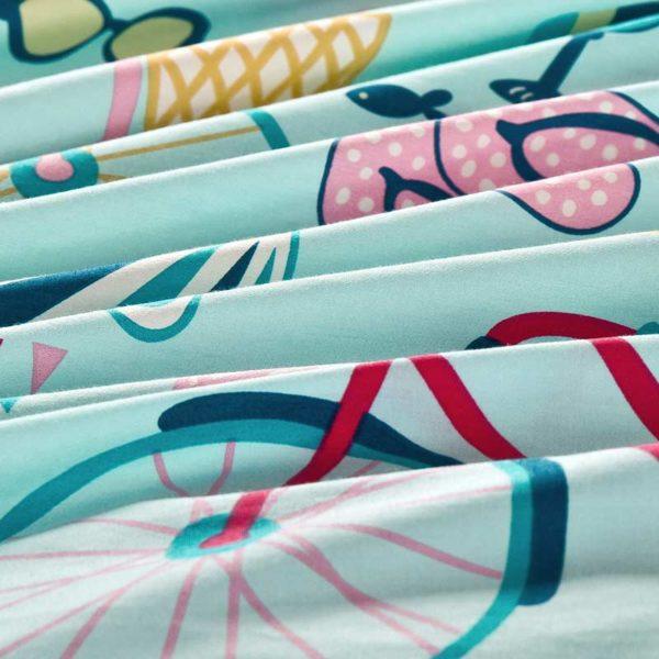 Fabulous Beach Themed Cotton Bedding Set 1