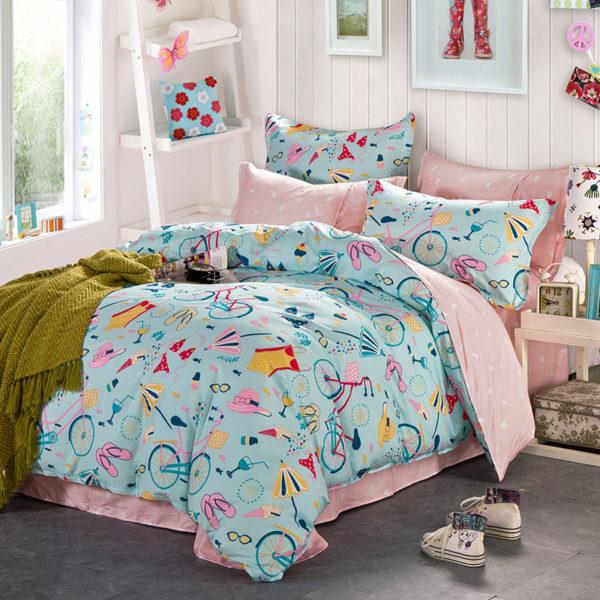 Fabulous Beach Themed Cotton Bedding Set 2