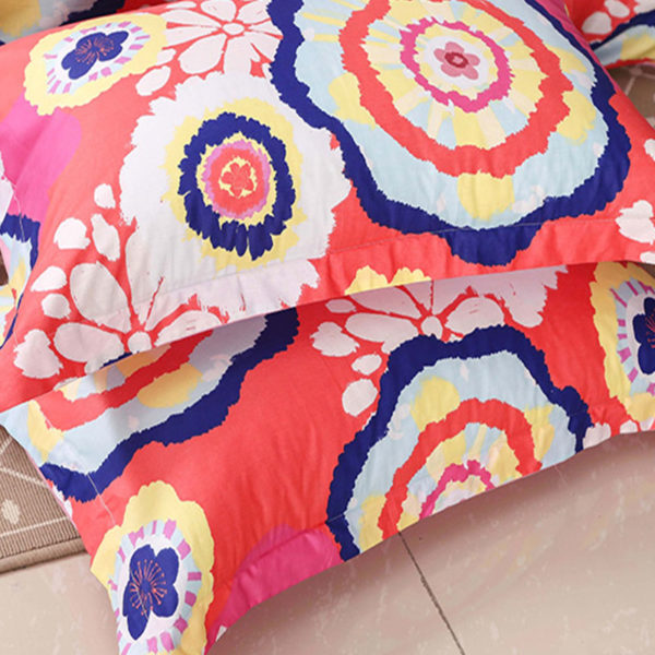 Fabulous Multicolored Cotton Bedding Set 2 600x600 - Fabulous Multicolored Cotton  Bedding Set