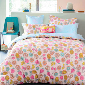 Fancy Fruit Printed Cotton Bedding Set 1 300x300 - Fancy Fruit Printed Cotton Bedding Set