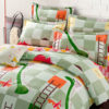 Fantastic Snakes And Ladders Cotton Bedding Set 1