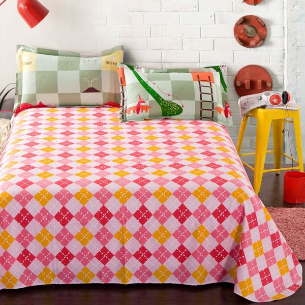 Fantastic Snakes And Ladders Cotton Bedding Set 2