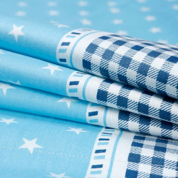 Funky Star Themed Cotton Bedding set 3