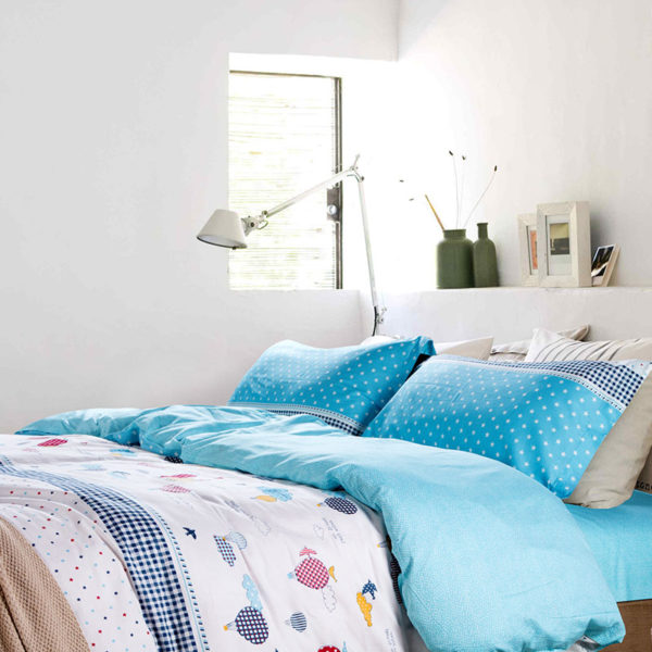 Funky Star Themed Cotton Bedding set 4 600x600 - Funky Star Themed Cotton Bedding set