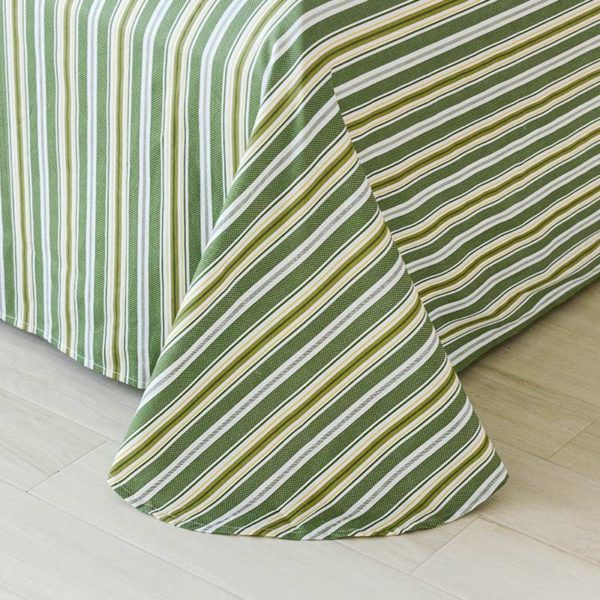 Funky Stripes And Leaves Cotton Bedding Set 3 600x600 - Funky Stripes And Leaves Cotton  Bedding Set