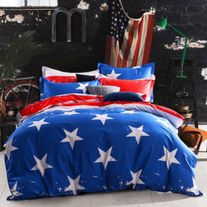 Gorgeous Blue And Red Cotton Bedding Set 1 300x300 - Gorgeous Blue And Red Cotton Bedding Set