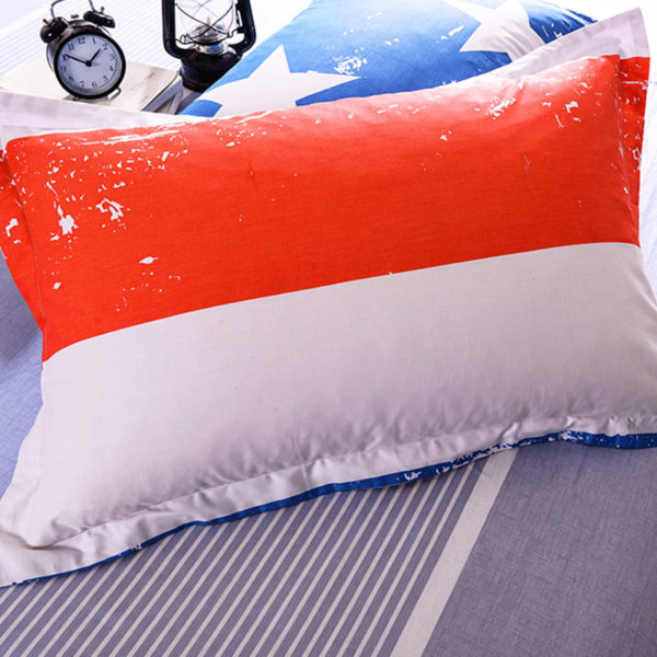 Gorgeous Blue And Red Cotton Bedding Set 2 600x600 - Gorgeous Blue And Red Cotton Bedding Set
