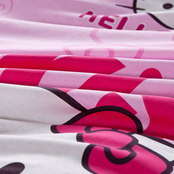 Hello Kitty Themed Pink Bedding Set 4 600x600 - Hello Kitty Themed Pink Bedding Set