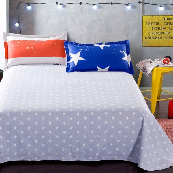 Lovely Cotton Bedding Set With Star Theme 4 600x600 - Lovely Cotton  Bedding Set With Star Theme