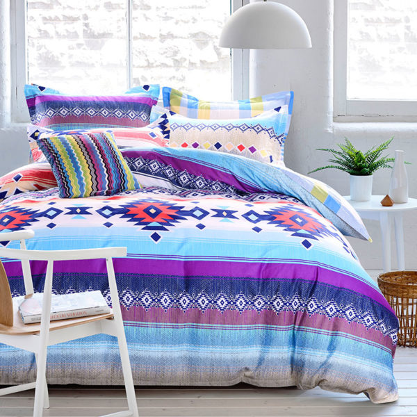 Lovely Multicolor Cotton Bedding Set 1 600x600 - Lovely Multicolor Cotton Bedding Set