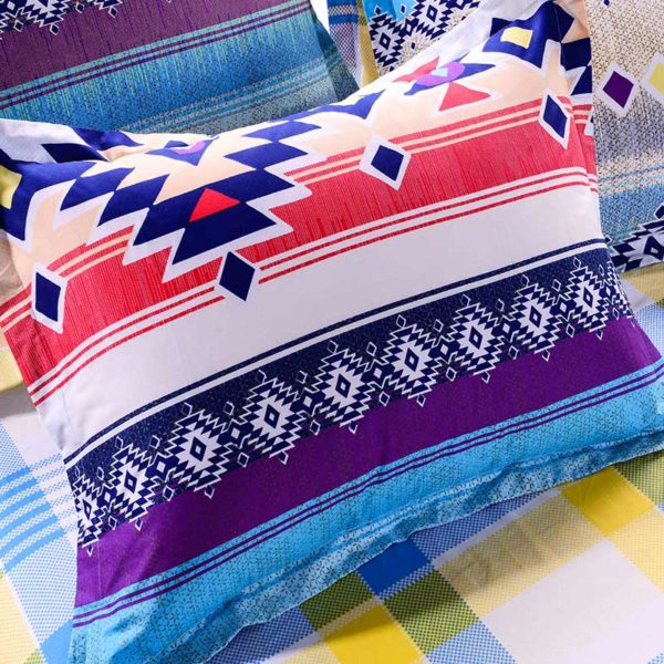 Lovely Multicolor Cotton Bedding Set 3 600x600 - Lovely Multicolor Cotton Bedding Set