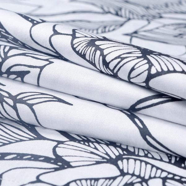 Monochromatic Floral Cotton Bedding Set 3 600x600 - Monochromatic Floral  Cotton Bedding Set