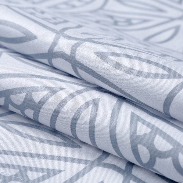 Monochromatic Floral Cotton Bedding Set 4 600x600 - Monochromatic Floral  Cotton Bedding Set
