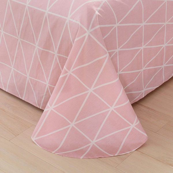 Premium Geometrical Themed Cotton Bedding Set 4
