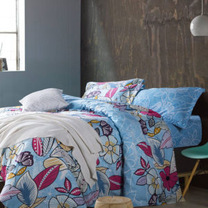 Pretty Flower Patterned Cotton Bedding Set 1 300x300 - Pretty Flower Patterned Cotton Bedding Set
